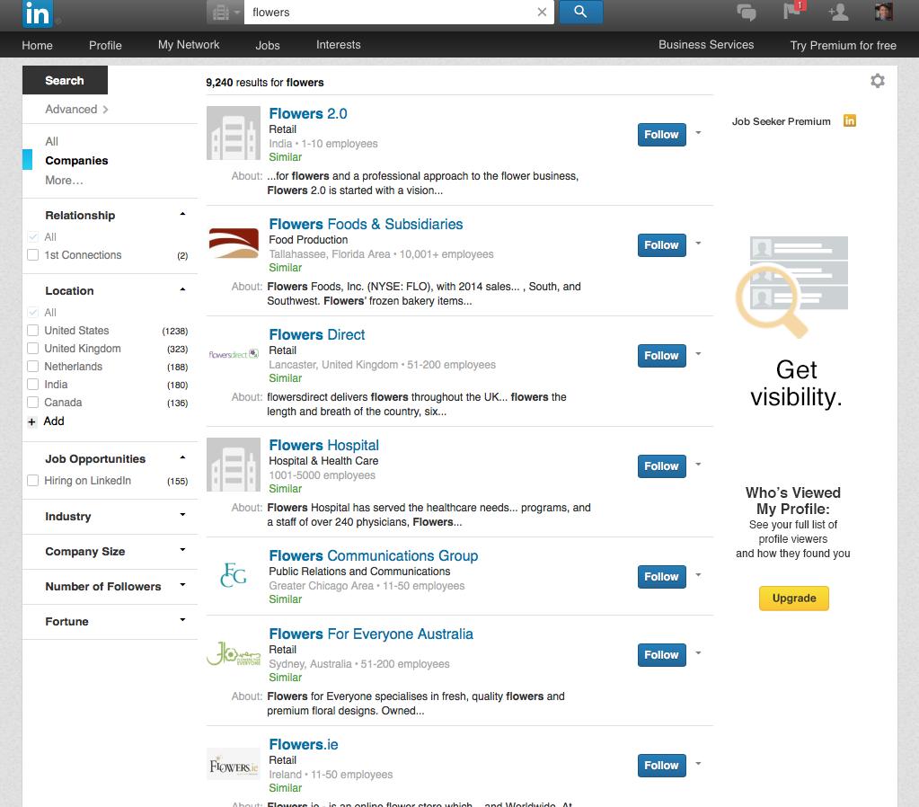 career coaching - Linkedin results - george karris