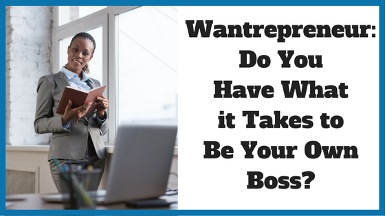 Wantrepreneur: Do You Have What it Takes?