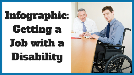 Infographic- Getting a Job with a Disability