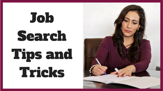 Job Search Tips and Tricks