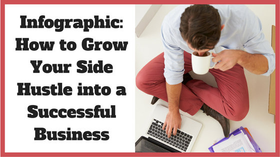 Infographic: How to Grow Your Side Hustle into a Successful Business